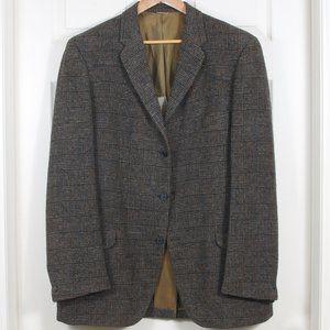 🇨🇦 VTG 1950s Harris Tweed Wool Sport Coat ~46L
